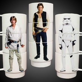 Star Wars - Star Wars Stacking Mugs