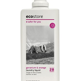 eco store - laundry liquid / geranium & orange