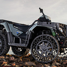 Polaris - Sportsman WV850 H.O With Airless Tires