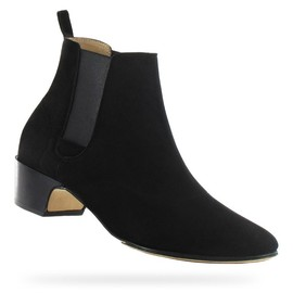 repetto - Low Boots Rico Black Goatskin suede