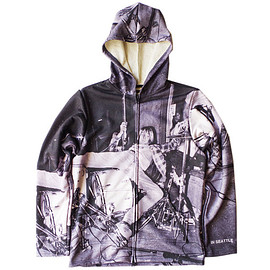 TALKING ABOUT THE ABSTRACTION, MATATABI - CG-I-017_Print Parka feat.Charles Peterson_Drum Kit