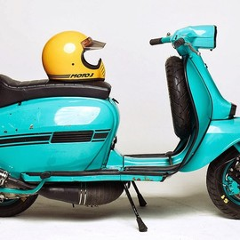 "Lambretta - ""Blue Ashtray"" by Marian Sell"