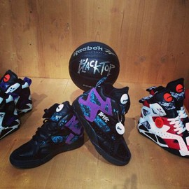 Reebok - REEBOK PUMP BLACKTOP II 2013 RETRO 3COLORS