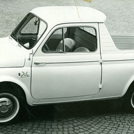 Fiat - It's a 500mino! (1962 Fiat 500 Ziba, styled by Ghia)