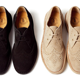 CLARKS, BEAUTY&YOUTH UNITED ARROWS - BEAUTY & YOUTH スペシャル DESERT KHAN BROUGE
