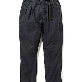 nonnative - EXPLORER EASY PANTS COTTON COMPACT CORD WITH FIDLOCK® BUCKLE