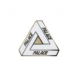 Palace Skateboards - TRI-FERG PIN WHITE