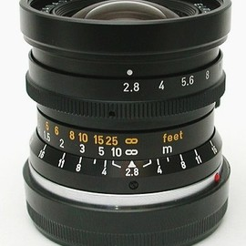 Leitz - Elmarit 28mm f2.8 2nd (very eary model with stopper)