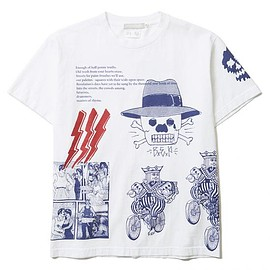 BLACK EYE PATCH - 15FW COLLAGE T-SHIRTS(LIMITED 50)(WHITE)