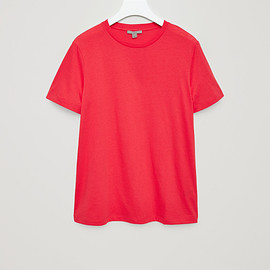 COS - CLASSIC T-SHIRT - Fresh blush