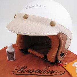 Borsalino - Helmet,Metal & Matt Cream
