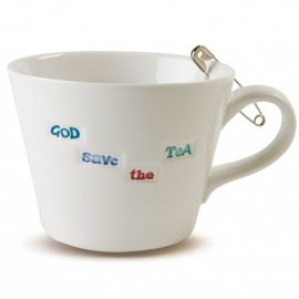 God Save The Tea Bucket Mug
