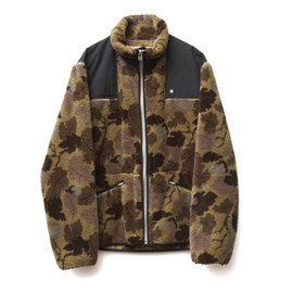 GDC - camo fleece blouson