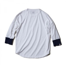 HEAD PORTER PLUS - RAGLAN 3/4 SLEEVE TEE WHITE