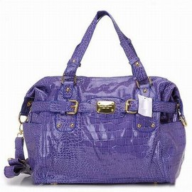 Michael Kors Gia Crocodil Embossed Satchel Purple - cheap michael kors gia crocodil embossed satchel purple store