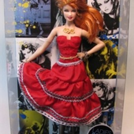 MATTEL - Picture of Barbie Ladies of the 80s - Cyndi Lauper