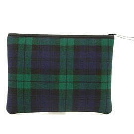Pijama - Pocket L (tartan 10 blue green)