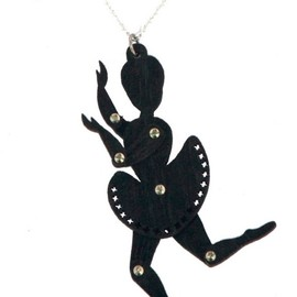 Lovehate - Ballerina necklace
