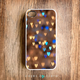 cases by csera - Unique iPhone 4S Case Colorful iPhone 4S Case iPhone 4S Case Hard Case for iPhone Bokeh iPhone iPhone 4S Christmas Gift Ideas