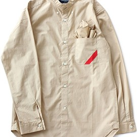 PHINGERIN - Soup Shirt Broad NC (beige)