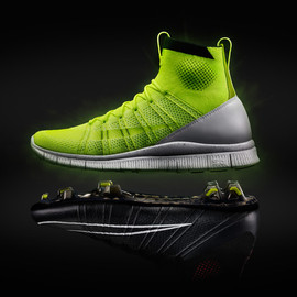 Nike - Free Mercurial Superfly HTM - Volt/White