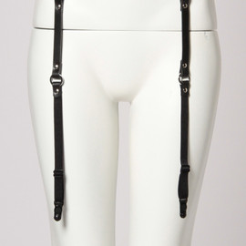 G.V.G.V. - 【G.V.G.V.】LEATHER GARTER BELT
