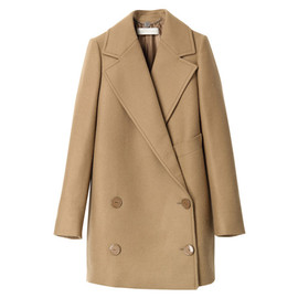 Stella McCartney - BABY CAMEL COATING COAT