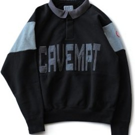 C.E - Casual Collared Sweat (black)