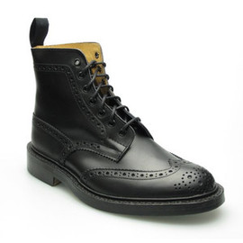 Tricker's - M2508 MALTON (BLACK BOX CALF) レザーソール