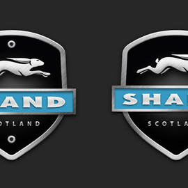 SHAND - Headtube badge