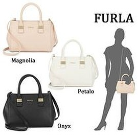 FURLA - 新入荷 FURLA Amelia Leather Satchel 2WAY ショルダーバッグ