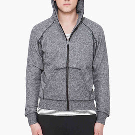 T by Alexander Wang - hooded siro terry sweater