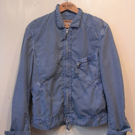 TAKAHIROMIYASHITA The SoloIst. - classic zip up work jacket.