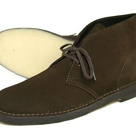 Wallabee (Black Suede)