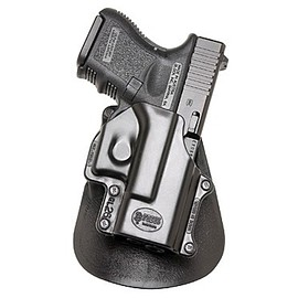 Fobus - Paddle Holster Right Hand Glock 26, 27, 33 Polymer Black