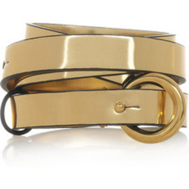 Stella McCartney  - Metaric leather belt