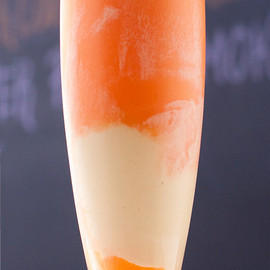 Vanilla ice in orange float