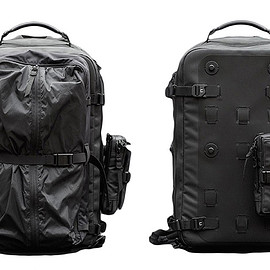 Black Ember - Citadel Modular Backpack - Black