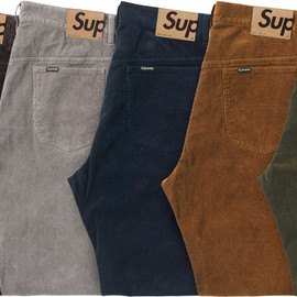 Supreme - 5-pocket coduroy
