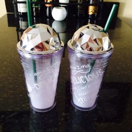 STARBUCKS - domed tumbler limited edition