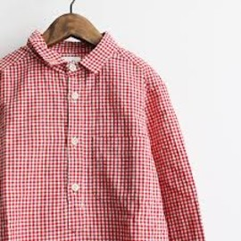 maillot - sunset gingham BD shirts