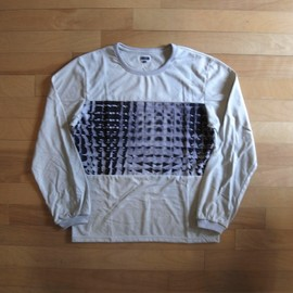 """CYDERHOUSE - Long Sleeve Tee Division """"Ivory"""""""