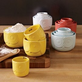 West Elm - Owl Measuring Cups eclectic kitchen tools