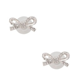 kate spade NEW YORK - skinny mini pave bow studs