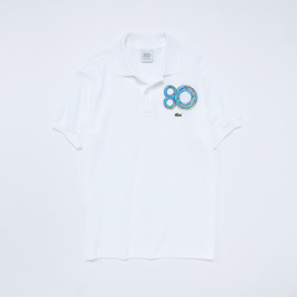 LACOSTE, Peter Saville - 80th Anniversary Rainbow Logo Polo