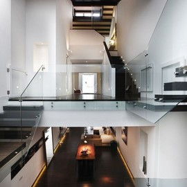 stairs, living space