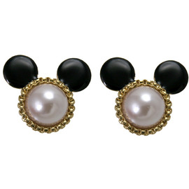 Disney Couture - Minnie Earrings (pearl) by Mawi