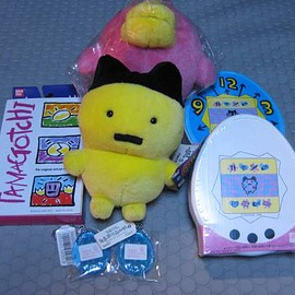 Tamagotchi - ** Primary Tamagotchi white other, Ri you or only Oh!