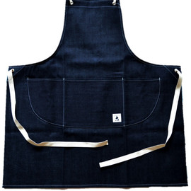 WORKS&LABO. - GROW YOUR OWN APRON セルビッジデニム