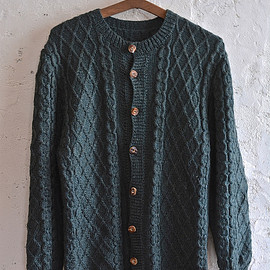 Tyrolean knit cardigan